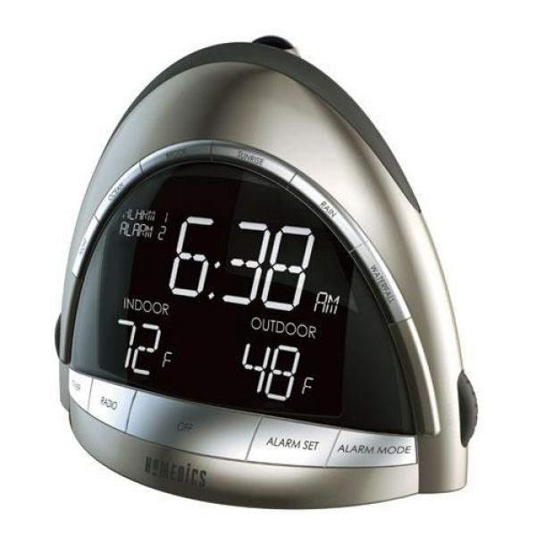 ... Clock Radio - SS5010 - Clock Radios - HOMEDICS Clock Radios - TheNerds