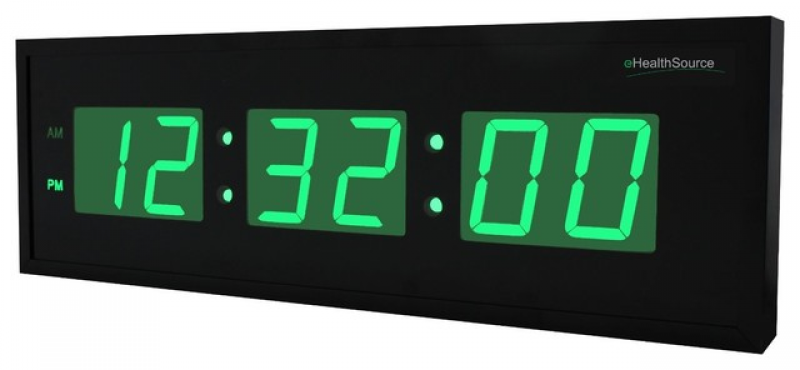 ... Digital LED Clock - Modern - Wall Clocks - by Metro Fulfillment House
