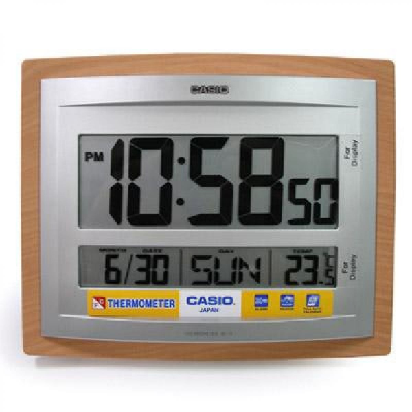 Digital Table Clock, 40 Off Casıo Id 15 5 Dıgıtal Wall Desk Clock ...