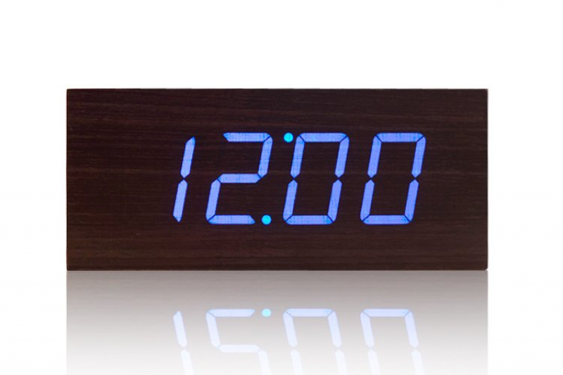 Digital Clock,High Quality Digital Wooden LED Desk Clock Free shippig ...