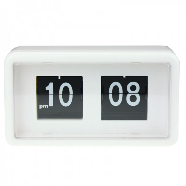 ... Flip Clock Stylish Modern Desk Wall Digital Clock Home Decor New Lucky