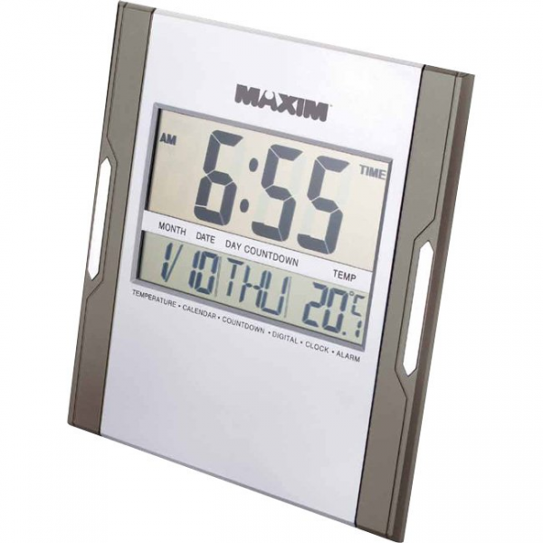 Details about MAXIM,JUMBO DIGITAL WALL CLOCK