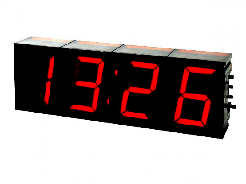 Large Digital LED Clock Kit with Temperature K8089