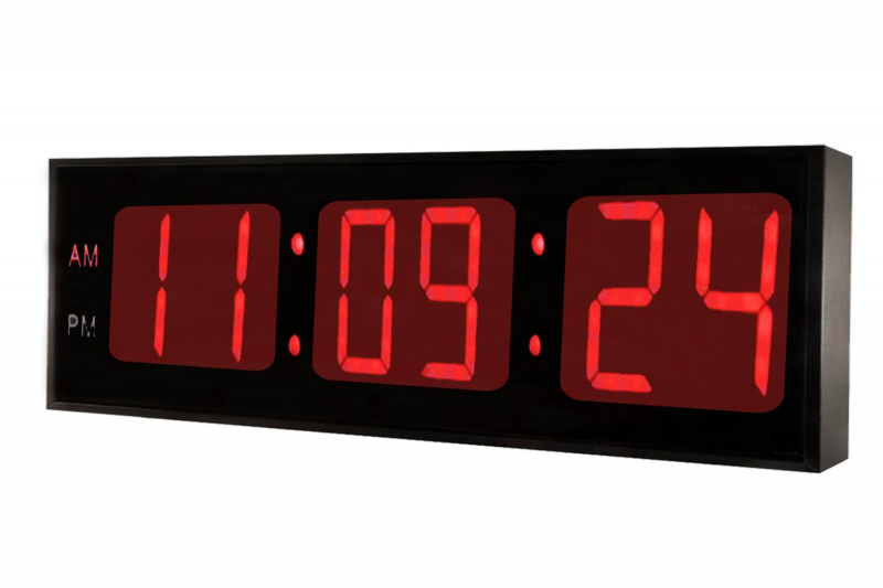 ... 0130RED Huge Large Big Oversized Digital LED Clock 30 Inch RED | eBay