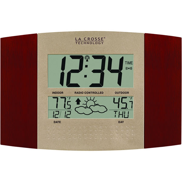 Home > Clocks > Digital Wall & Table Clocks > La Crosse Technology WS ...
