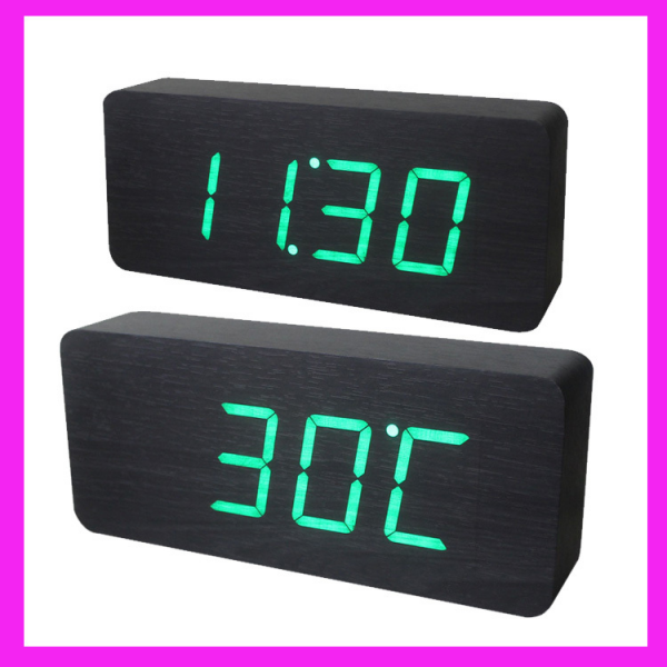 Small Digital Desk Clock Promotion-Online Shopping for Promotional ...