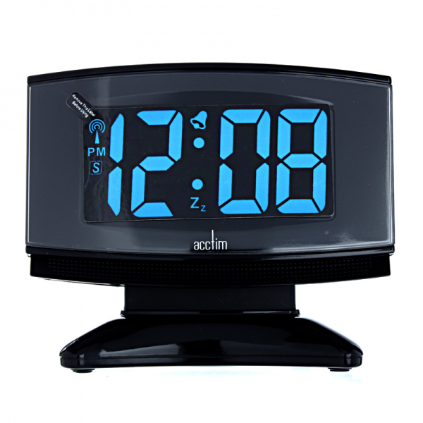 Acctim Radio Controlled Plasma LED Alarm Clock 2432