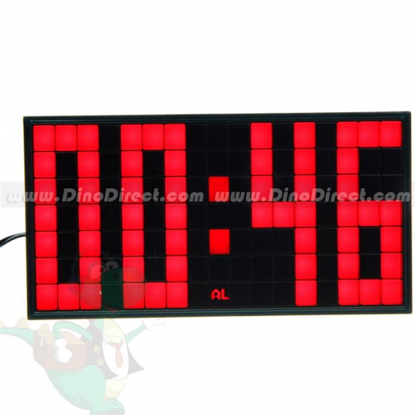 Wholesale Homadorns Classic LED Plasma Alarm Clock - DinoBulk.com