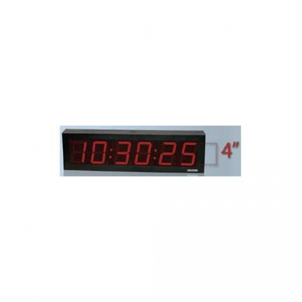 ... Equipment > Valcom VIP-D640DS IP PoE 6 Digit, 4 inch Digital Clock, Do