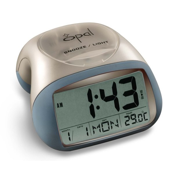 Opal Table Top Digital Alarm Clock - Overstock Shopping - Great Deals ...