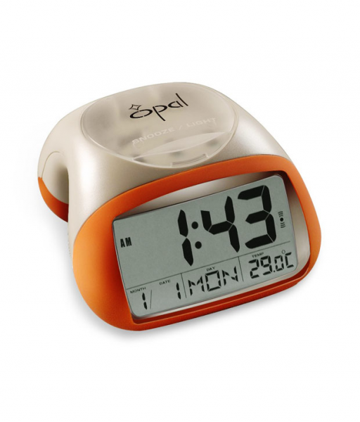 Opal Table Top Orange Digital Clock | BG : 56958 | For Rs. 1823 ...