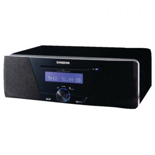 Sangean Digital Table Top AM FM CD Radio MP3 Playback Clock 20 Preset ...