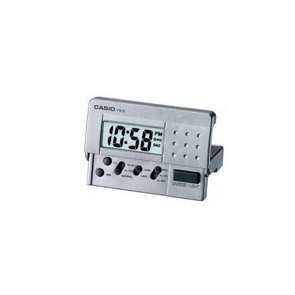 Casio Digital Table Clock, Casio Pq 10D 8Rdf Pl007 Table Clock ...