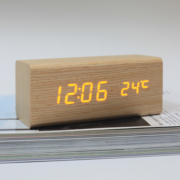 LED Alarm Clock,Despertador Temperature Desktop Digital Table Clocks ...