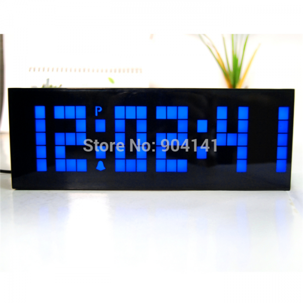 Large Display Big Jumbo New Home Decoration Desk Clock Wall Clock With ...