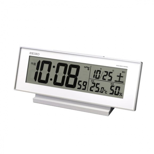 of electric wave digital alarm clock white table clock table clock ...