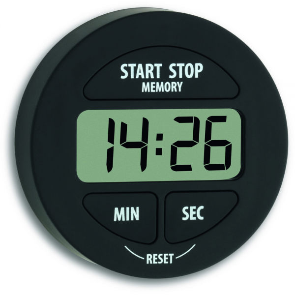 Digital Countdown Timer/Stopwatch Complete with Magnet