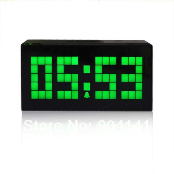 ... Digital-Alarm-Clock-Table-Clock-electric-digital-clock-large-display