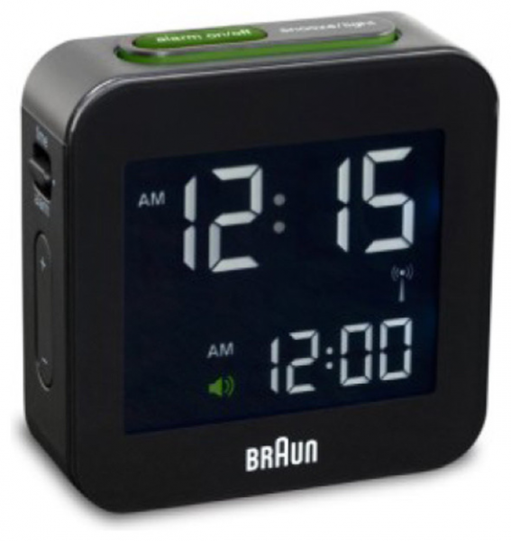 Braun BNC008 Digital Table Clock - Modern - Clocks - by Switch Modern