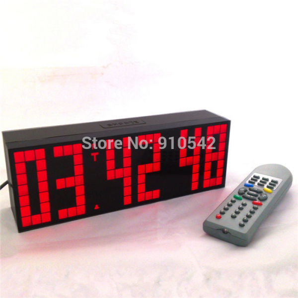 !!Digital Big LED Snooze Countdown Timer With Remote electric table ...