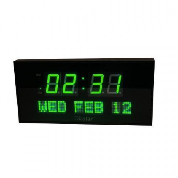 ... -Big-Oversized-Digital-LED-Calendar-Clock-with-Day-and-Date-Shelf-or