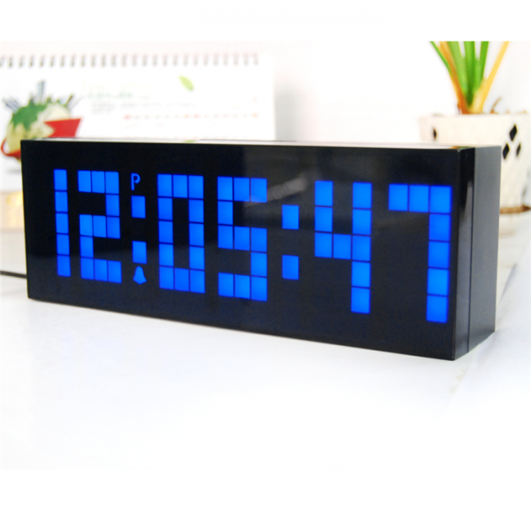 LED Alarm Clock Electric Countdown Timer Wall Desk Table Alarm Clock ...