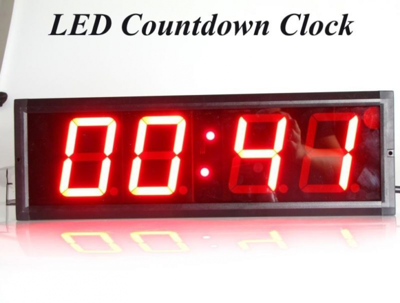 Large Countdown Clock | eBay