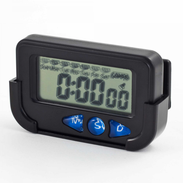 ... function digital clock stopwatch clock hour minute second with large