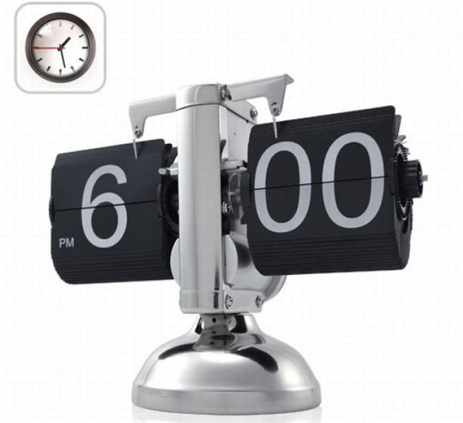Auto flip clock – Retro flip down clock | Ufunk.net