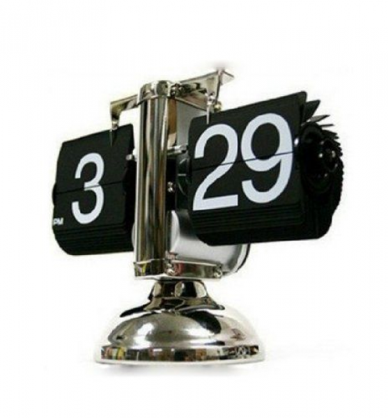 SODIAL® Retro Flip Down Clock - Internal Gear Operated $38.98