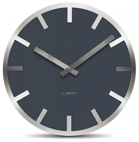 Metlev35 Wall Clock - Grey Index - Modern - Wall Clocks - by Design ...