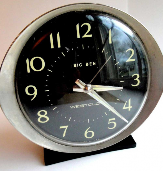 Wind Up Alarm Clock - Vintage Timepiece | Best Clock