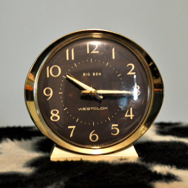 Westclox Big Ben Wind-up Alarm Clock by dlightvintage on Etsy