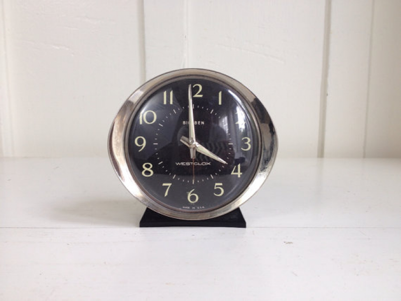 Big Ben by Westclox Wind Up Alarm Clock by CharmHound on Etsy