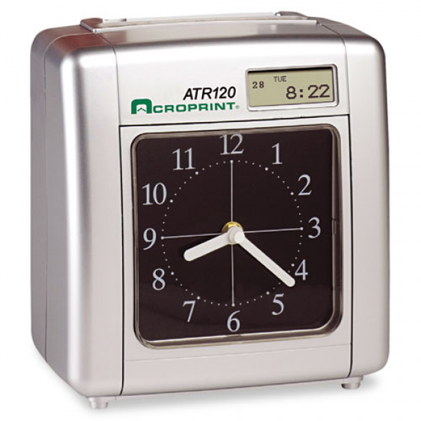 Model ATR120 Analog/LCD Automatic Time Clock - WebOfficeMart.com