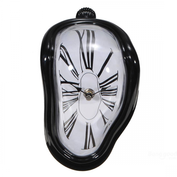 Wholesale Vintage Modern Office Home Distortion Desk Book Shelf Clock