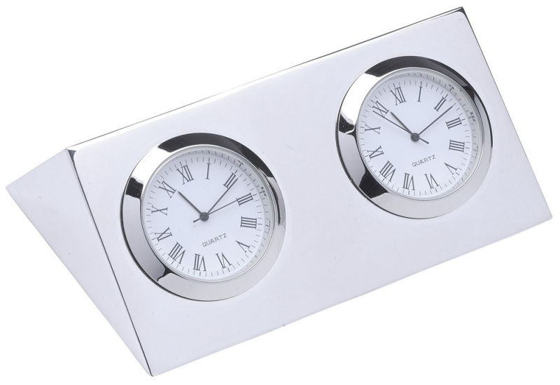 Two Time Zone Clock - Clocks - Men