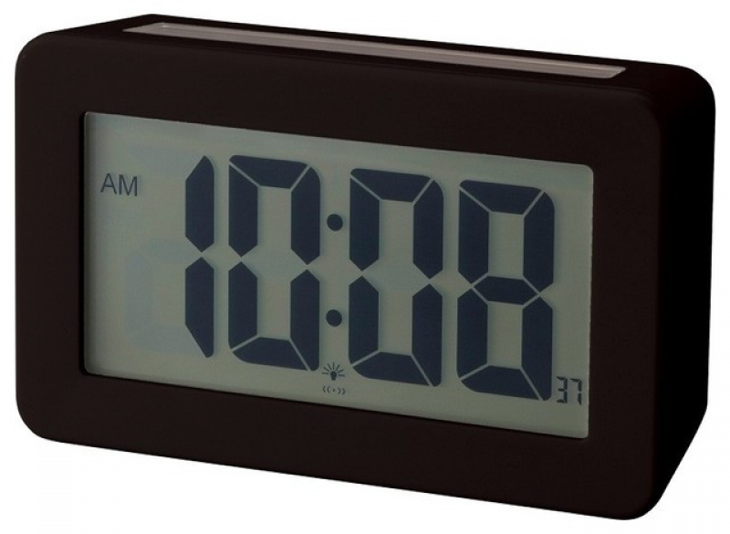 Solar Power Digital Clock - Modern - Clocks - by LBC Modern