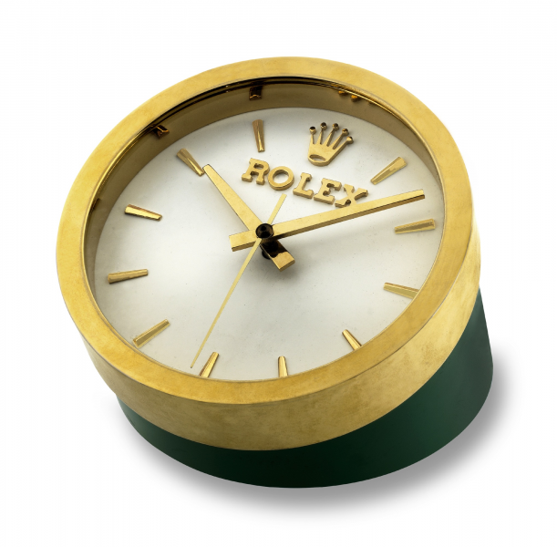 Antiquorum - Rolex Desk Display Clock Rolex, electric desk clock ...