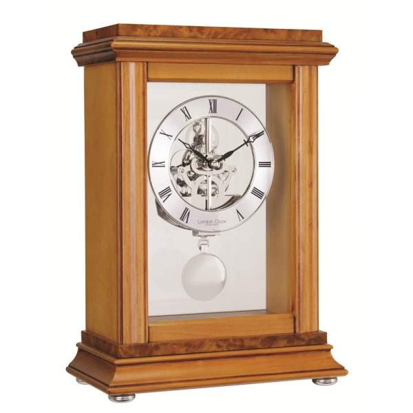 Clock Co London Clock Co Skeleton Pendulum Mantel Clock - London Clock ...