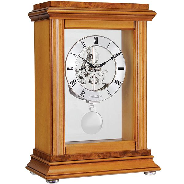 ... Skeleton Pendulum Mantle Clock by London Clock Company » Posh Clocks