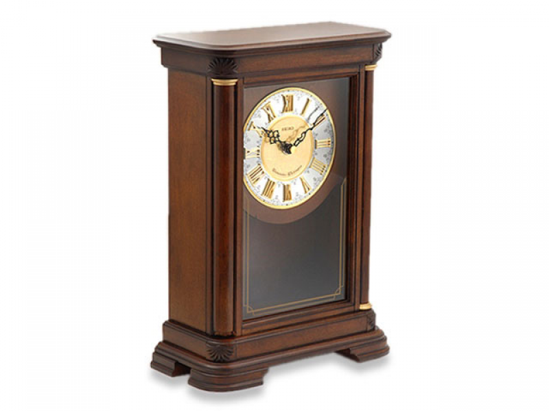 ... Clocks - Mantel Clocks - Seiko Chiming Pendulum Mantel Clock - 031864