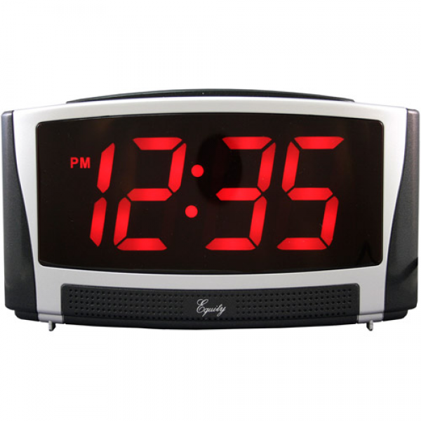 Equity by La Crosse Extra-Large LED Alarm Clock - Walmart.com