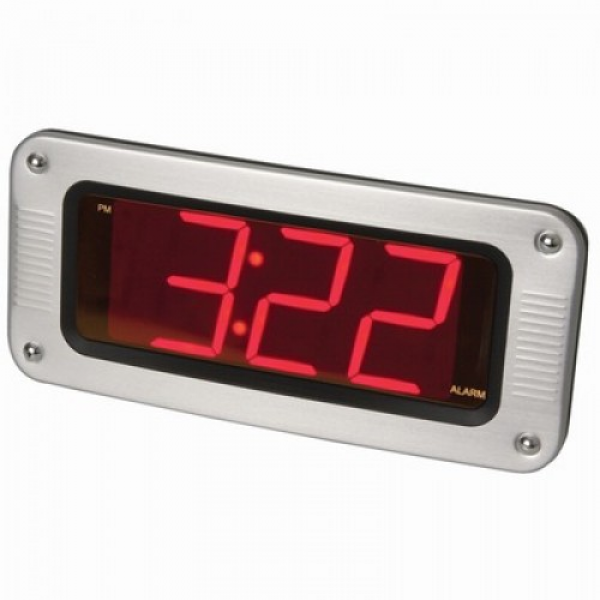 Extra Large Easy-Read LED Alarm Clock
