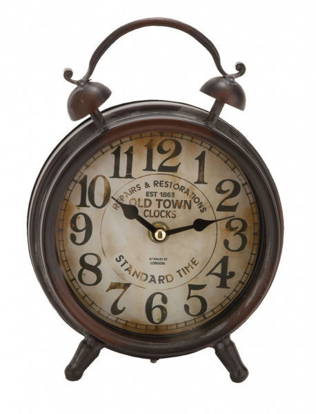 Old Town 9? Table Clock | Passport Furnishings