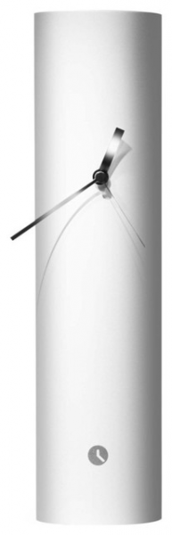 ... White Table Clock - Contemporary - Desk And Mantel Clocks - by Modo