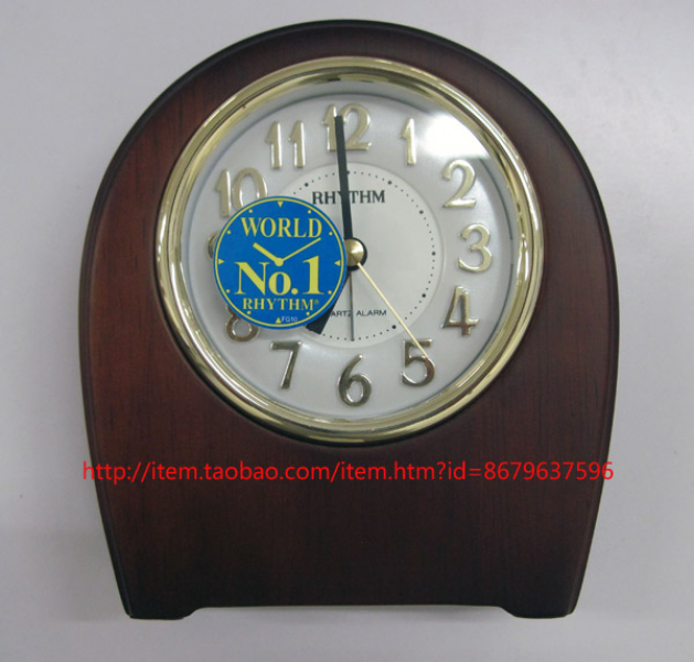 new-arrival-Rhythm-clock-fashion-small-desk-clock-alarm-clock-3d ...