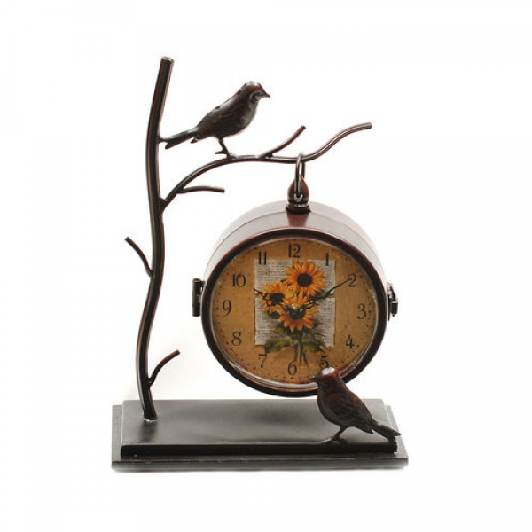 Ashton Sutton Table Clock - Walmart.com