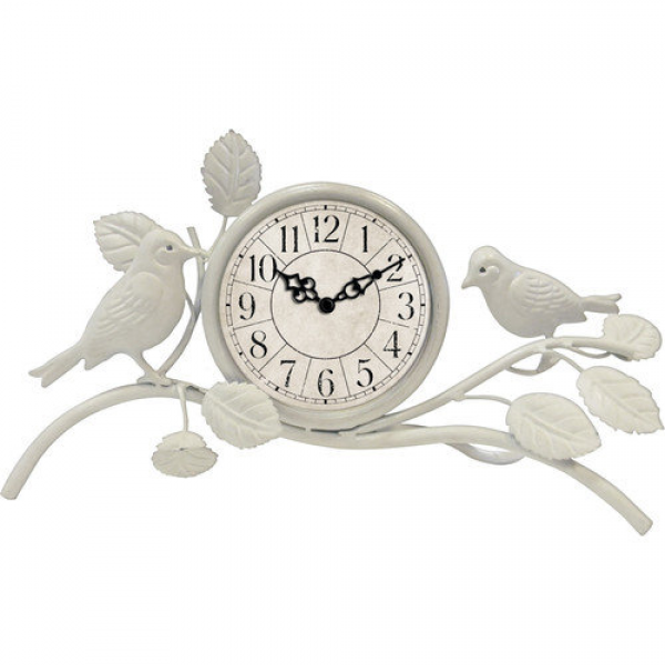Ashton Sutton Quartz Analog Table Clock - Walmart.com