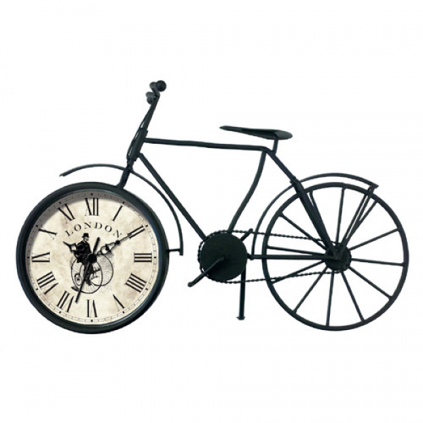 Vintage Bicycle Quartz Table Clock